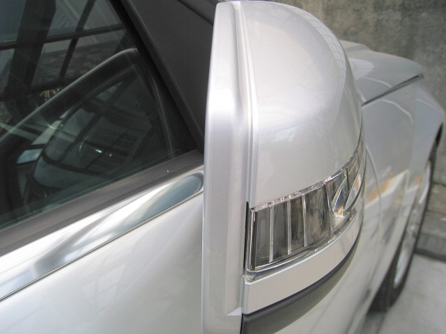 メルセデス・ベンツC200-W204-ドアミラー