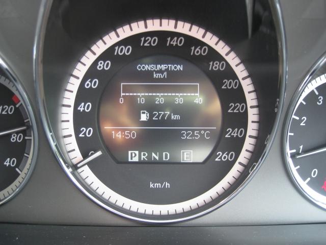 メルセデス・ベンツC200 W204 スピードメーター