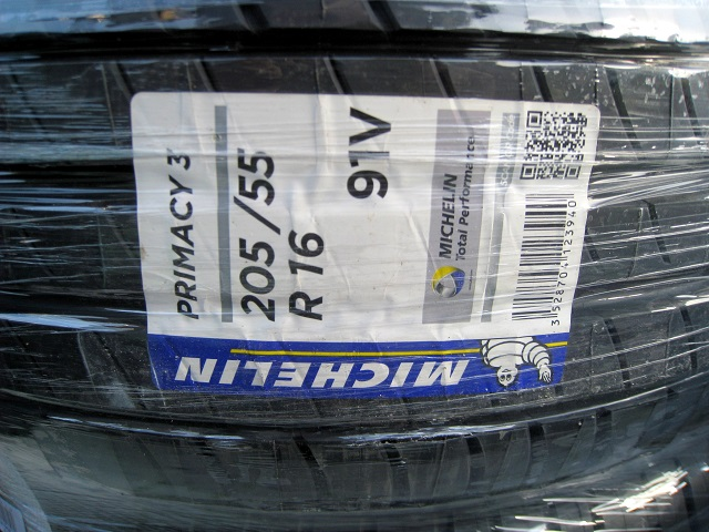 MICHELIN PRIMACY3 ミシュランタイヤ プライマシー3-205/55R16 91V