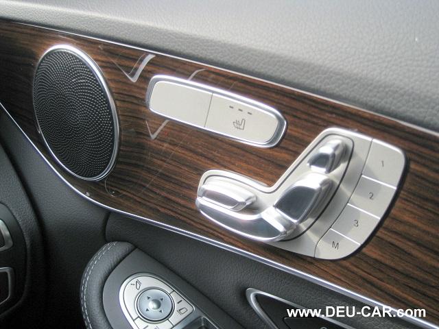 メルセデス・ベンツCクラスC200-W205シートスイッチ