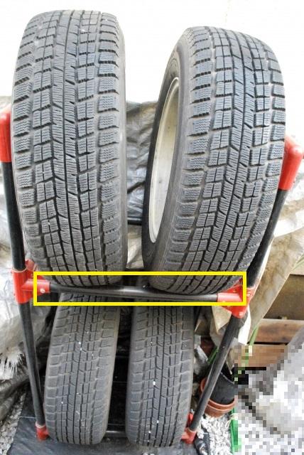 スタッドレスタイヤの保管方法