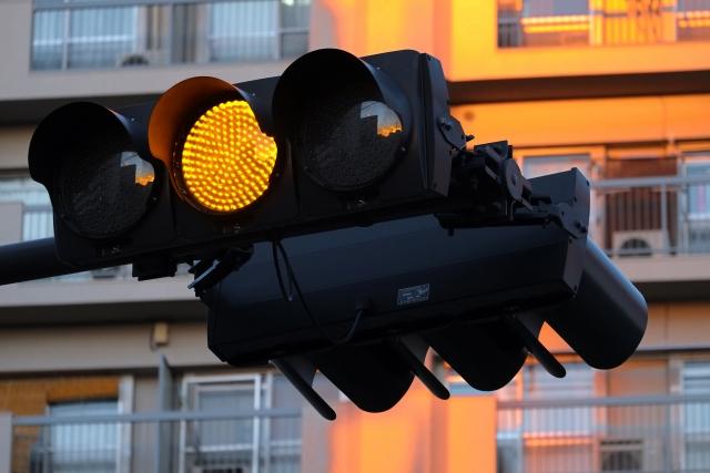 黄色信号機