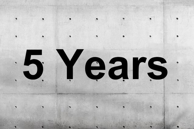 5年で車を買い替え