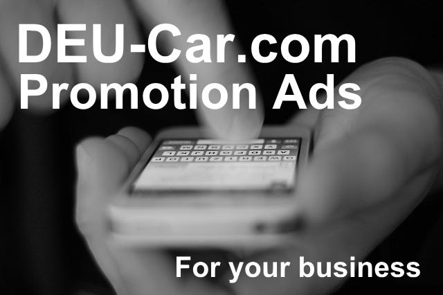 DEU-Car.comプロモーション広告
