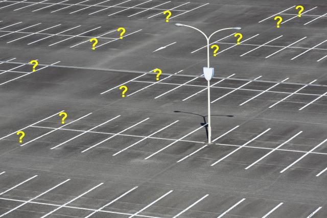 駐車場の危険な場所