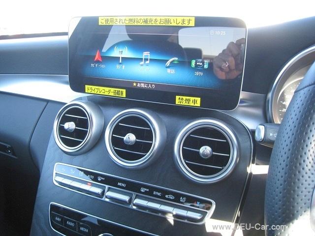 メルセデス・ベンツCクラスC220d/W205モニター